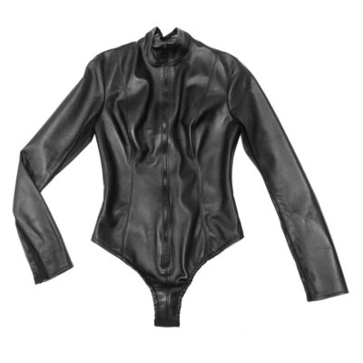 leather bodysuit