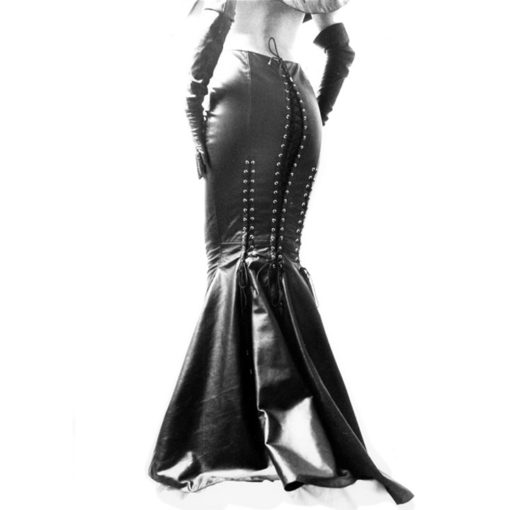 World Domination NYC Leather-Leather Mermaid Skirt