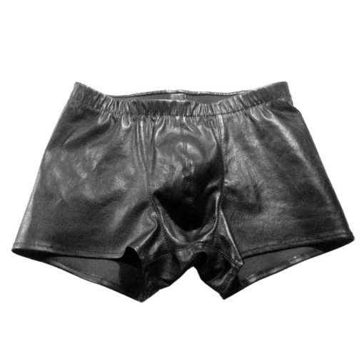 World Domination NYC Leather- Tighty blackie shorts