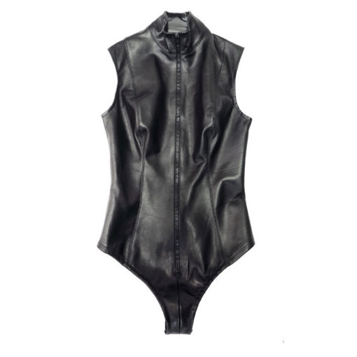 World Domination NYC Leather- Leather scuba bodysuit