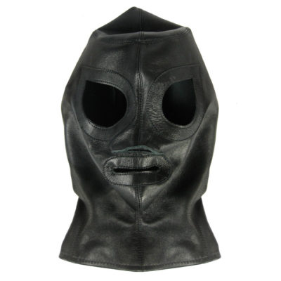World Domination NYC Leather- full zip fetish hood