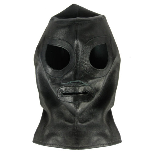 World Domination NYC Leather- full zip fetish hood