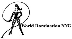World Domination NYC Leather- new logo