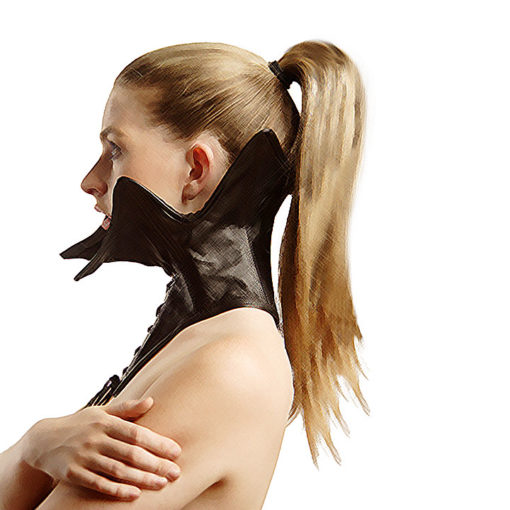 leather fetish collar