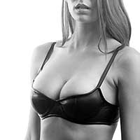 Our Leather Demi Bra
